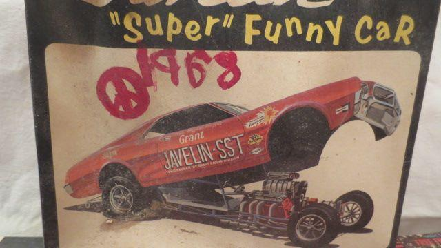 Amc collector toys 68 amc javelin grant rebel funny car mpc sciox Images