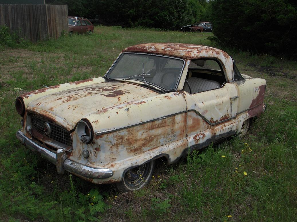pictures of old nash cars