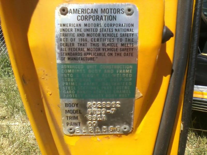 Amc Metal Door Tag