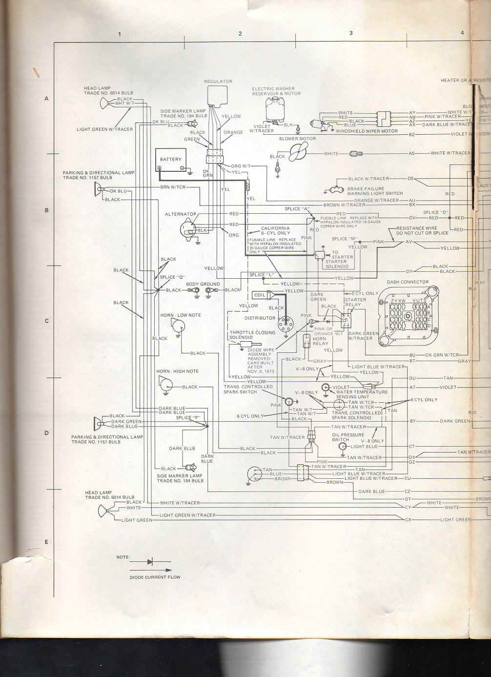 1973 amc wiring diagram wiring diagram experts