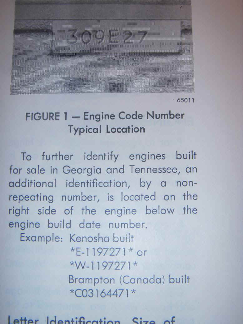Planet Ford Houston >> amc engine casting numbers