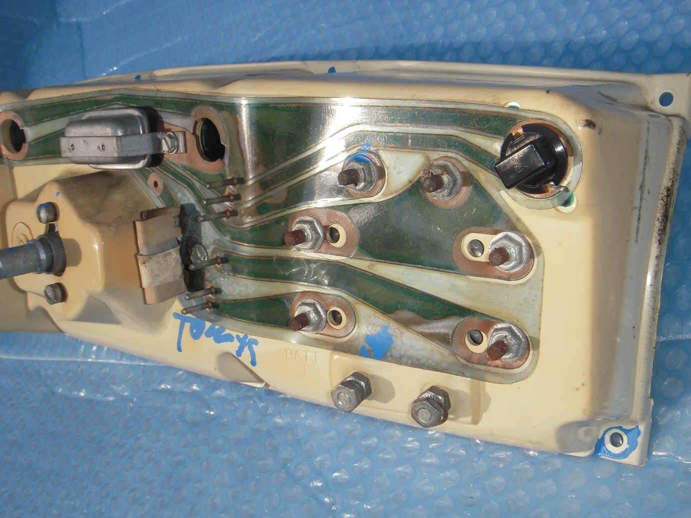 Amx Javelin 68 69 70 1969 Wiring Diagram 834875 Bytes Low Miler Gauges Rear