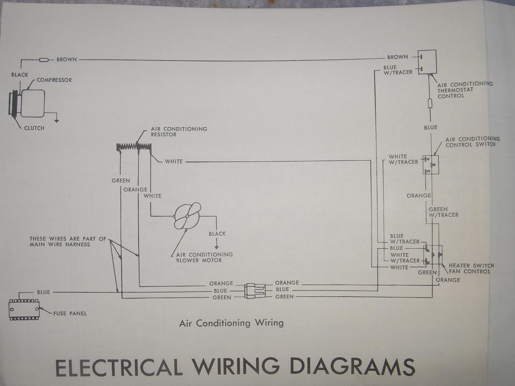 north texas amc club - keeping the spirit of amc alive ... 1968 amc rebel wiring diagram