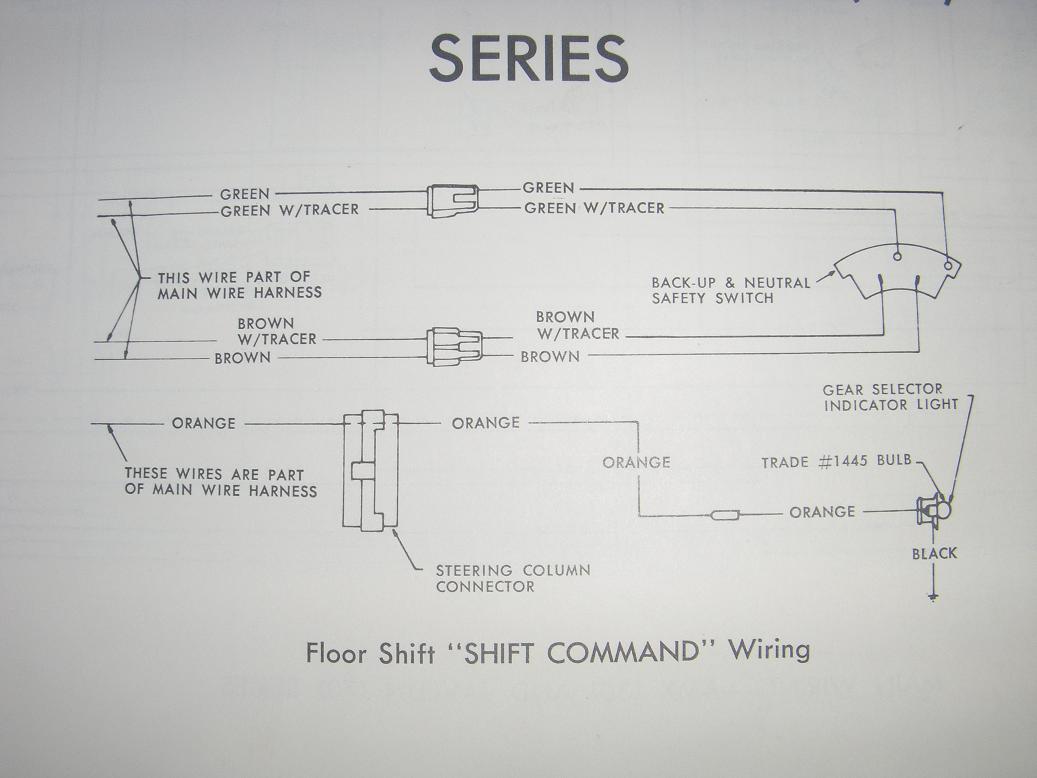 68-70 AMX-Javelin Shift Command Floor Wiring