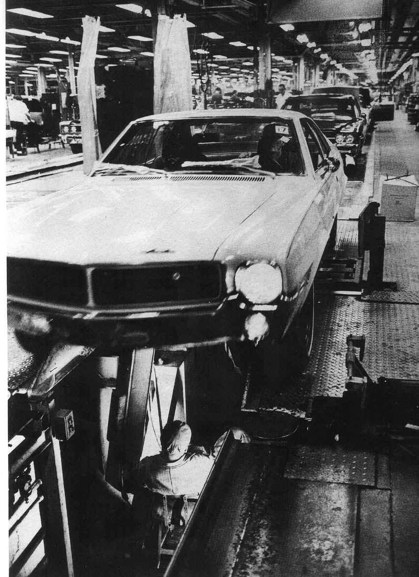 Car Paint Colors >> Big Bad Brown: 1969 AMC AMX