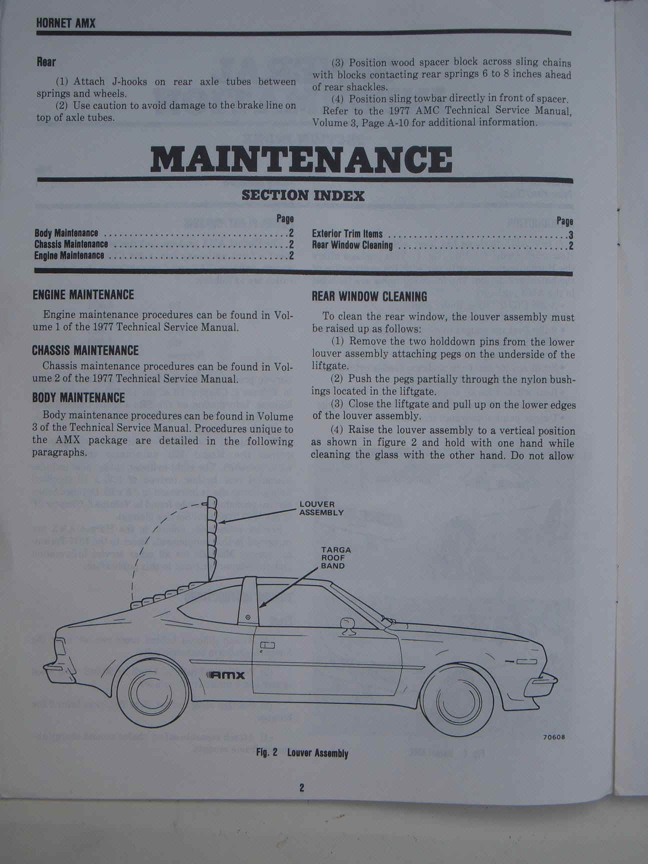 Amx Wiring Diagram Auto Electrical 1969 74 Engine