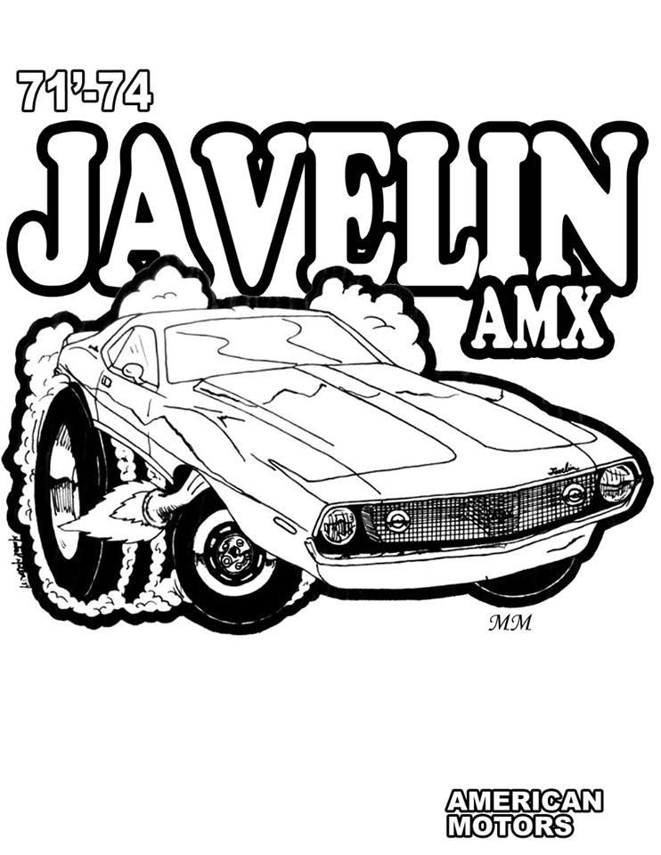 Color Amx Javelin Rebel Scrambler
